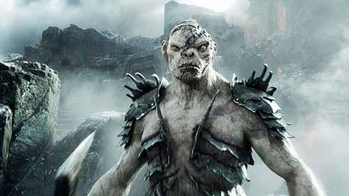 """""""Hobbit 3: Die Schlacht der Fünf Heere"""": Bolg und Thorinsind die größten Kontrahenten. Wer gewinnt, dem gehört der Goldschatz."""