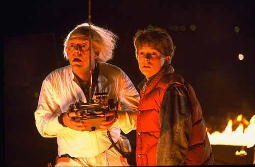 Zurück in die Zukunft McFly und Emmed Brown